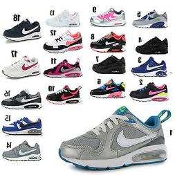 Kids Nike Air Max Leather Trainer Sports Running School Shoe
