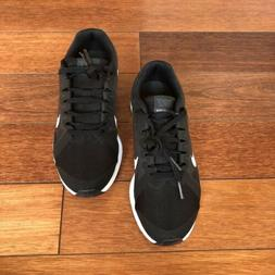 Nike Kids Boys Run Athletic Running Shoes Black Size 4.5Y