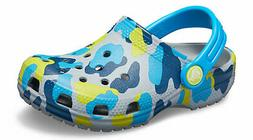 kids classic seasonal graphic clog