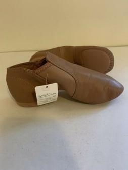 """Capezio Kids """"E-Series Slip -on Jazz Shoes With Elastic In"""
