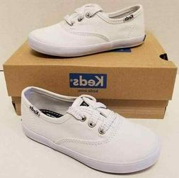 Kids Girls Keds Champion K White Canvas Toddler Size US 8.5