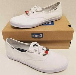 Kids Girls Keds Champion K White Canvas Youth Size US 4.5 M