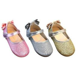 Kids Girls Princess Sandals Wedding Shoes Baby High Heels Dr