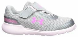 Kids Under Armour Girls Surge RN Fabric Low Top Buckle Walki