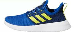Adidas Kids Grade School Lite Racer RBN Shoes Blue / Yellow