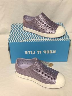 Native kids Jefferson Girls Bling Sneakers Slip-on Shoes