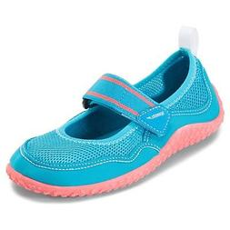 Speedo Kids' Mary Jane Water Shoes Blue & Coral  51623630 -