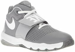 Nike Kids Preschool Team Hustle D 8 PS Basketball Shoe Grey