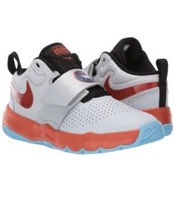 Kids PS & Youth Nike Team Hustle D 8 Basketball Shoes Platin
