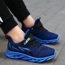 Kids Shoes Boys Girls Running Shoes Walking Casual Trainers
