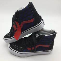 kids shoes sk8 hi zip true blue