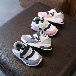 Toddler Children Kids Baby Boy Girl Mesh Casual Sports Running Shoes Sneakers TS
