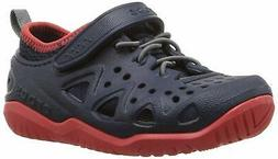 Crocs Kids' Swiftwater Play Shoe, Navy, Size 8 Toddler zM43