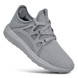 SouthBrothers Kids Shoes Knitted Mesh Tennis Walking Running