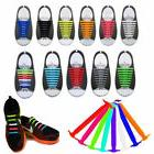 16pcs easy no tie shoelaces elastic silicone