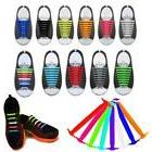 16pcs Easy No Tie Shoelaces Elastic Silicone Flat Shoe Lace