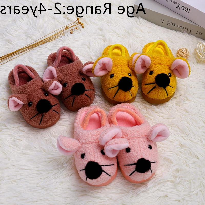 Baby Winter <font><b>Shoes</b></font> First Cotton Cartoon Rabbit Slippers Baby Slipper