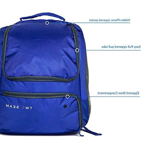 Two Seam - Softball Bag Baseball Backpack Bag for Youth Compartments Kids Baseball Equipment and Cleat