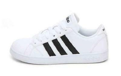 Adidas Kid's White Casual Leather AW4299