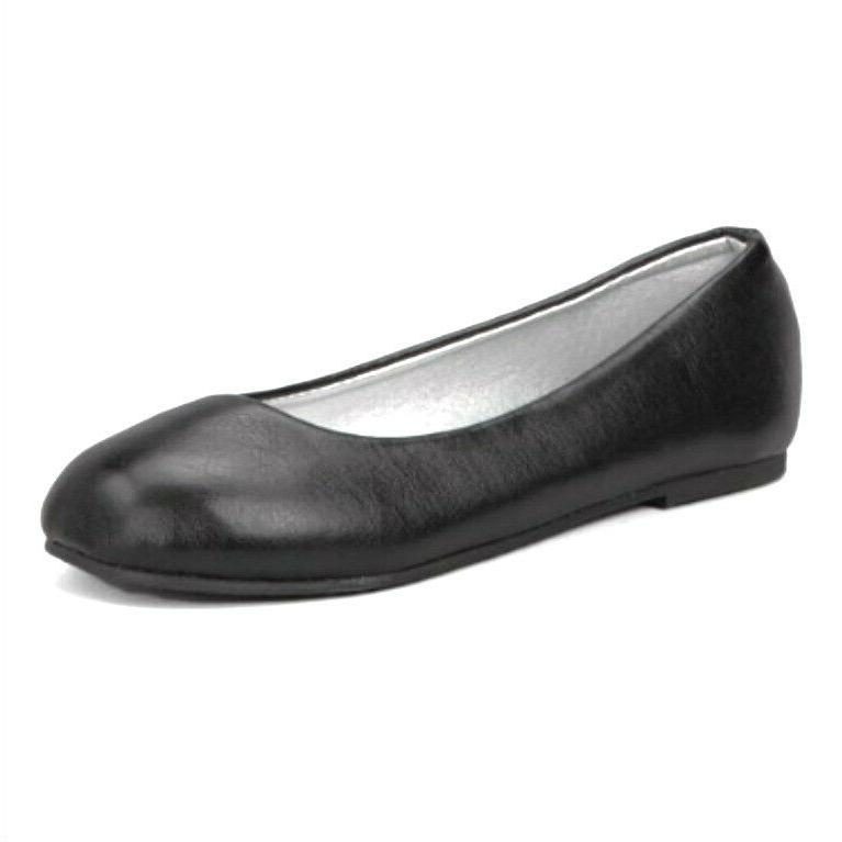 Big Girls Flat Strap Shoes Size 10-4 New