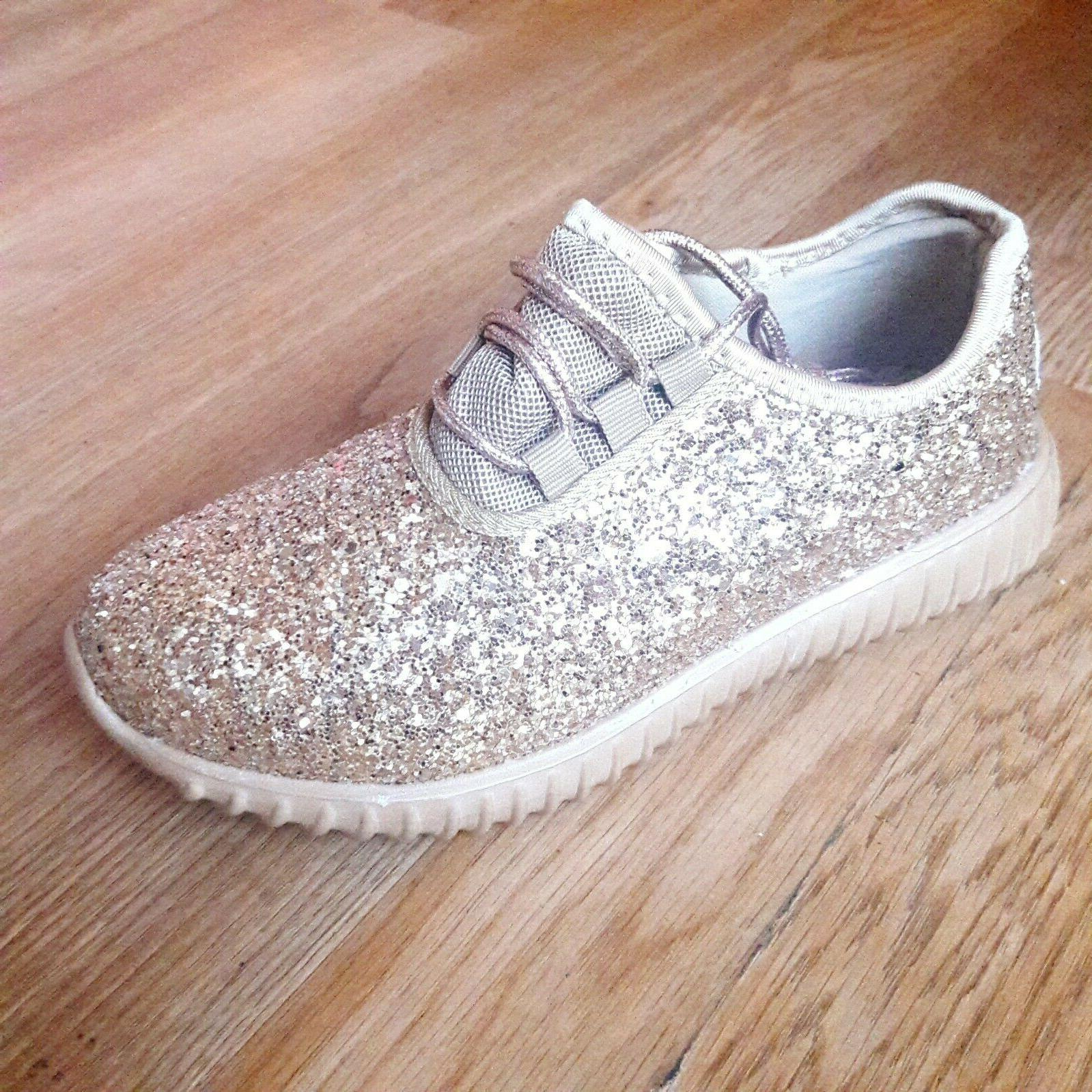 Shoes Glitter Joggers Size
