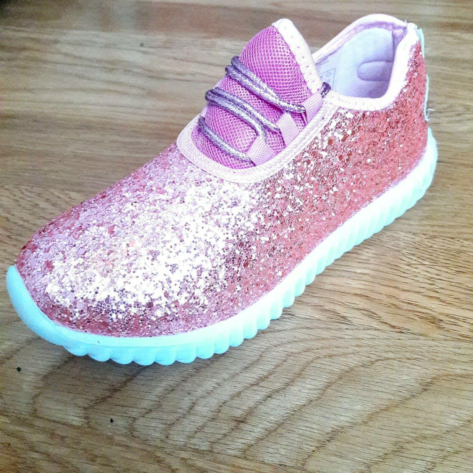 Big Tennis Shoes Glitter Joggers Size 10-3 New