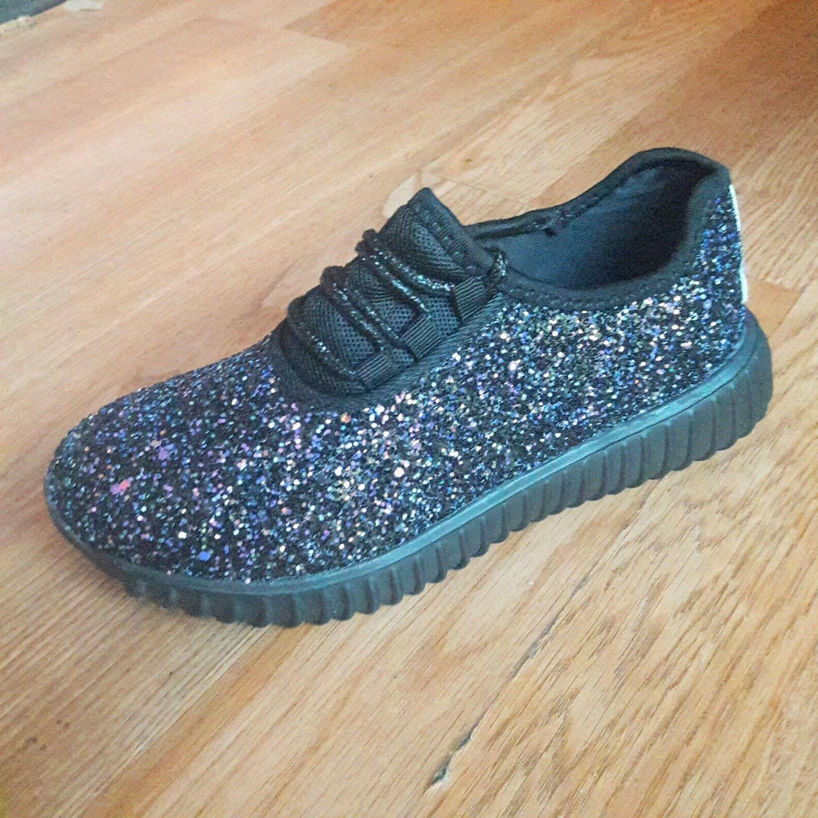 Big Shoes Glitter Sparkly Size New
