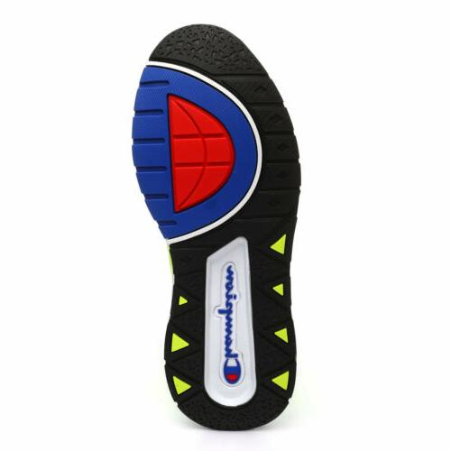 Champion Rally Pro Shoes: Neon Yellow/Black - CP100014Y
