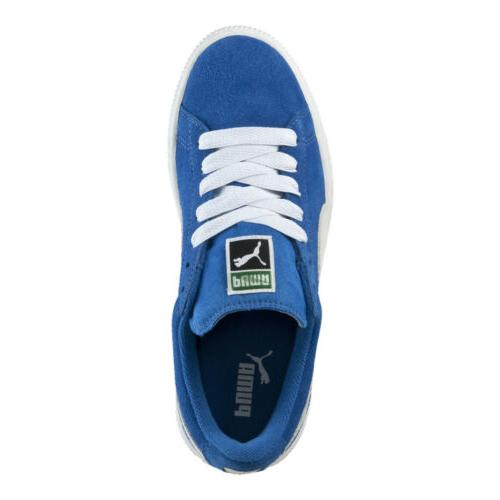 Puma Big Jr Shoes: Blue/White - 355110-02