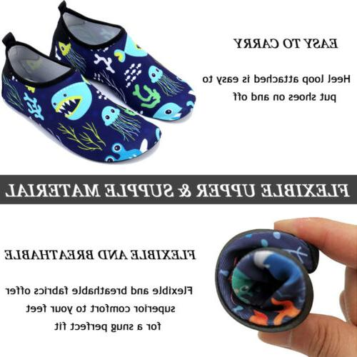 Boys Girls Shoes Quick Dry Swim Sports Aqua Pool Surfing