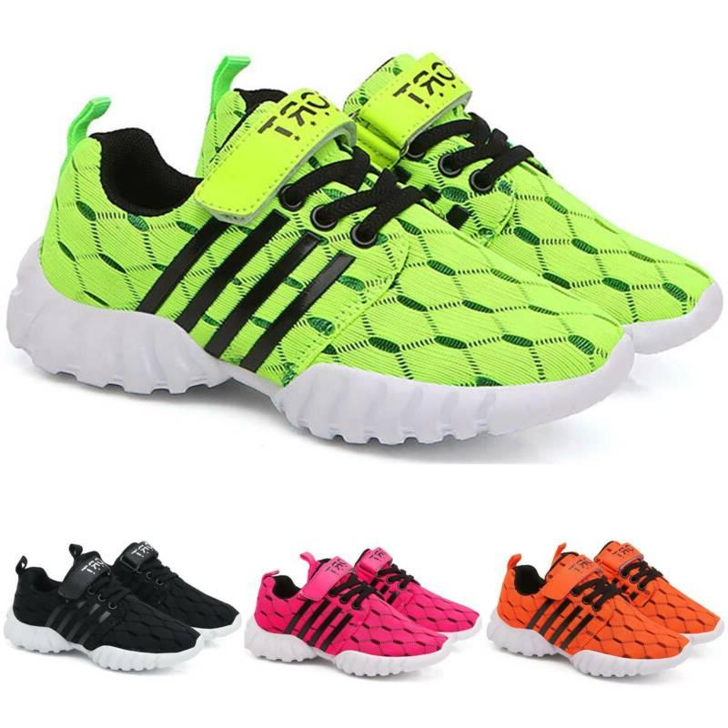 Boys Girls Trainers Sports Shoes Sneakers