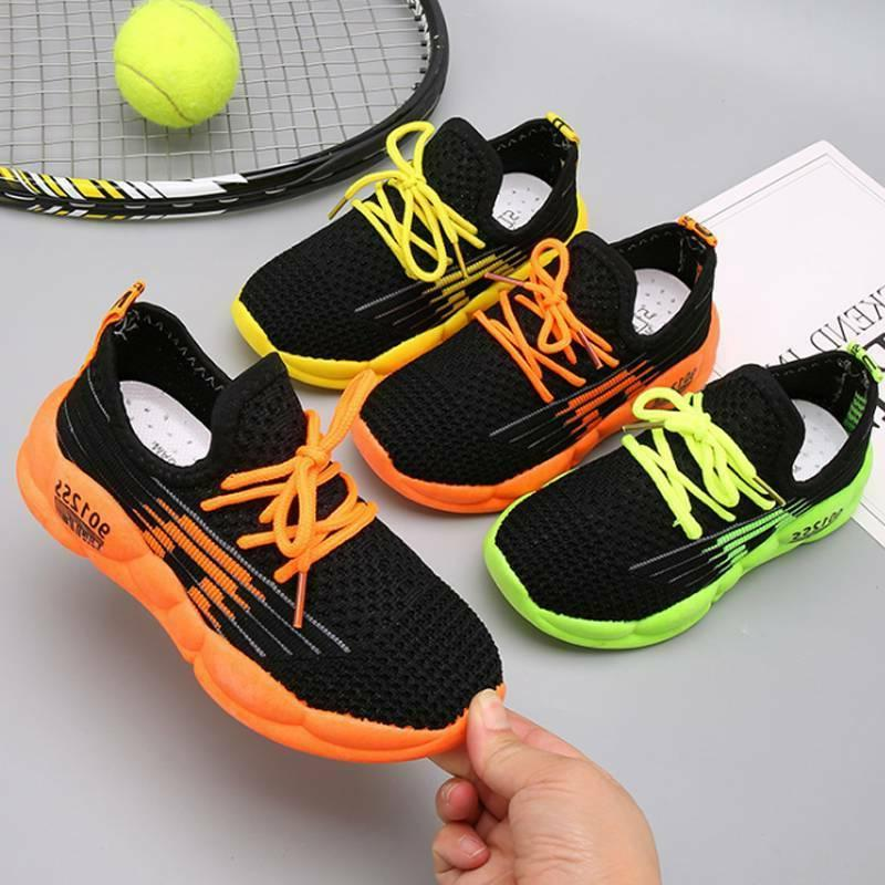 Boys Girls Running Trainers Casual Sports Shoes
