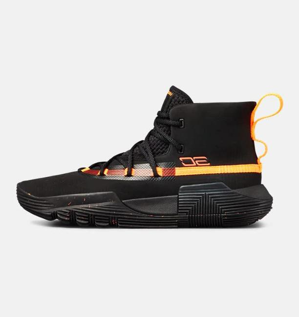 Under School Curry 2 Basketball Shoes