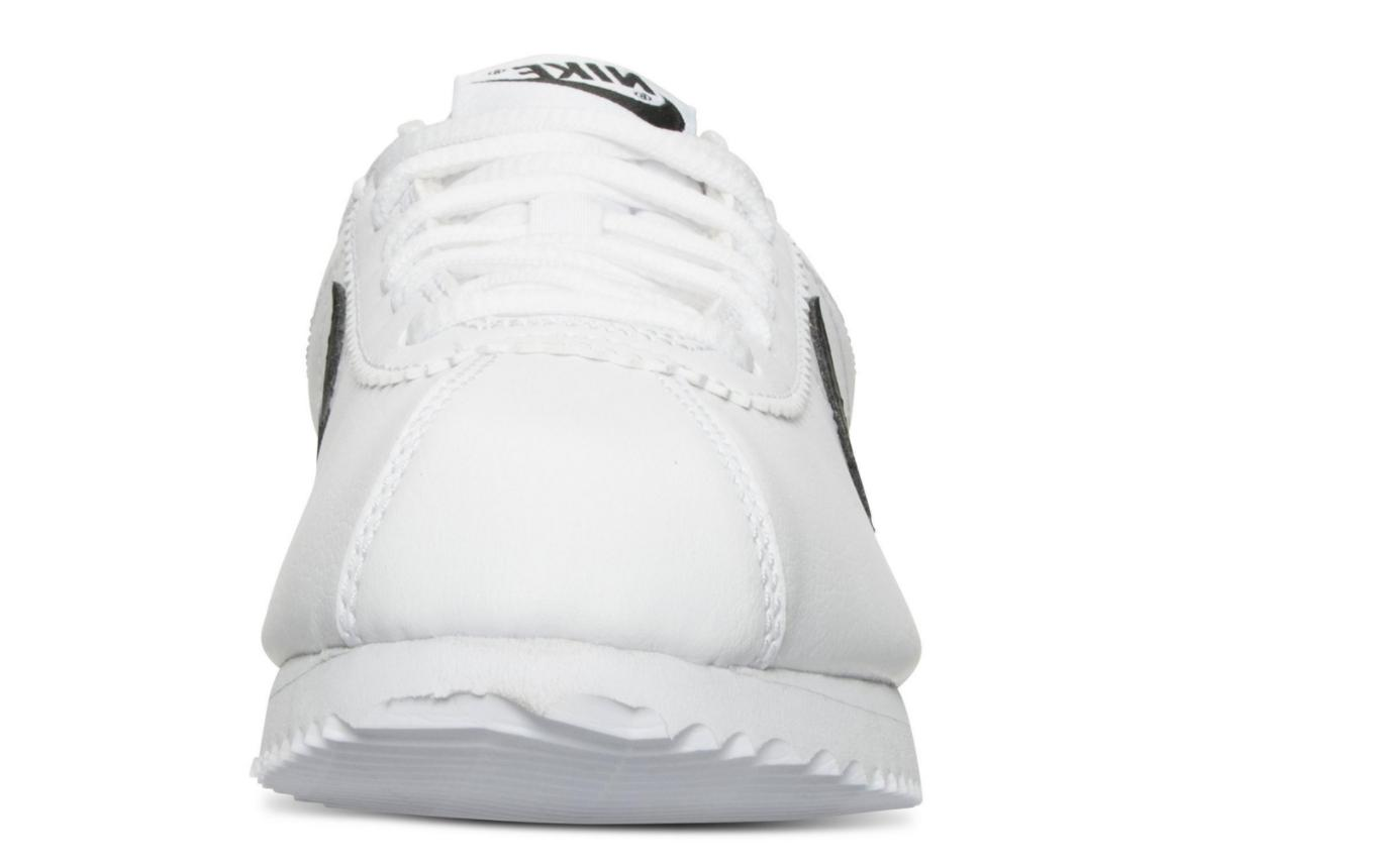 Boys' New Grade Shoes White/Black Size 4.5Y