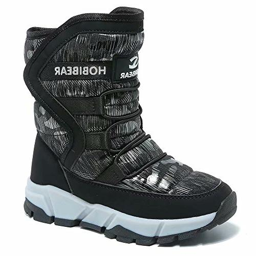 boys snow boots kids outdoor warm shoes