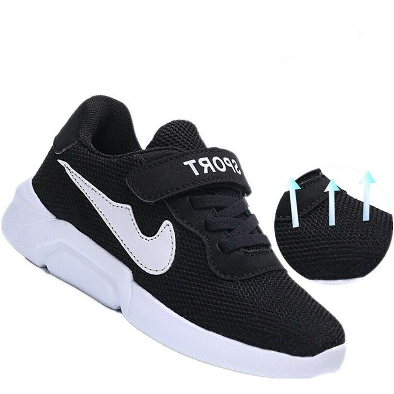 Children Mesh Sports Athletic Running Shoes Sneakers 28-40