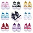 Cute Toddler Kids Canvas Sneakers Baby Boy Girl Soft Sole Cr