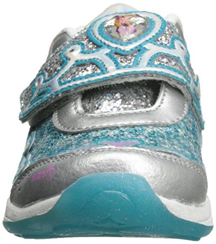 Light-Up ,Silver/Turquoise,10.5 US