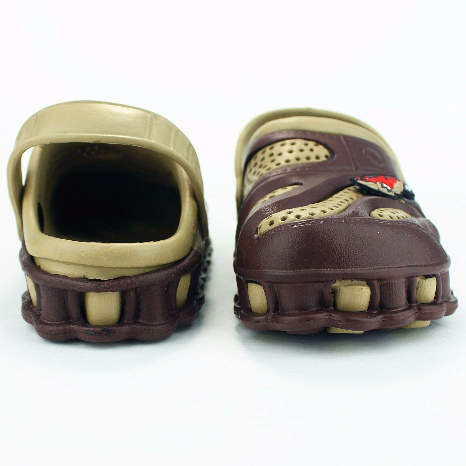 Garden Clogs Shoes Boys Kids Casual Slipper Sandals