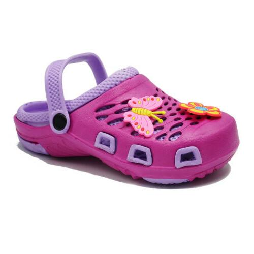 Sandals Kids On Slippers Cartoon Shoes