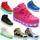 girls boys usb 7 led light up