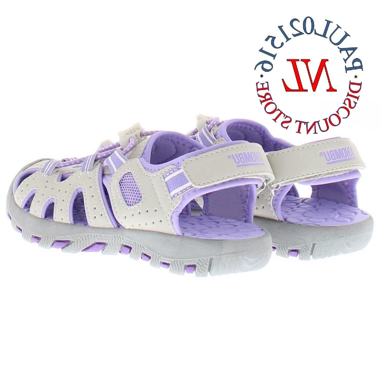 Khombu Girls Kids Toe Sport Sandal ~ Sizes/ !