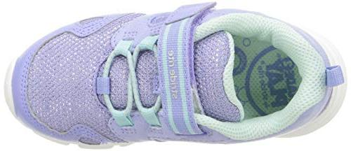 Stride Rite Girls' 2 Play Purple/Aqua, 4.5 M Toddler