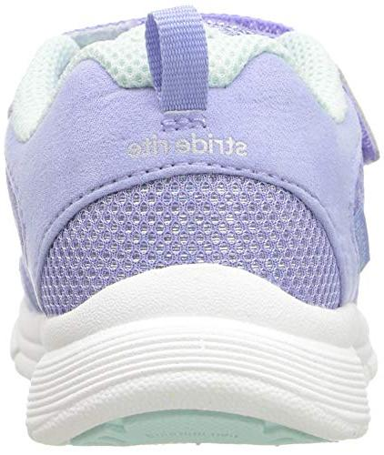 Stride Girls' Made 2 Play Purple/Aqua, M Toddler
