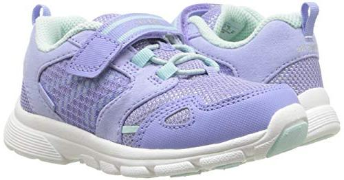 Stride Rite Girls' Purple/Aqua, Toddler