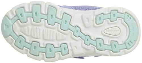 Stride Girls' 2 Purple/Aqua, Toddler