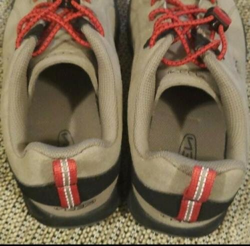 KEEN Hiking Shoes Red Size Active