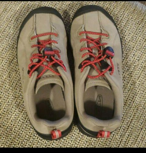KEEN Hiking Tan Red Kids 2 Active