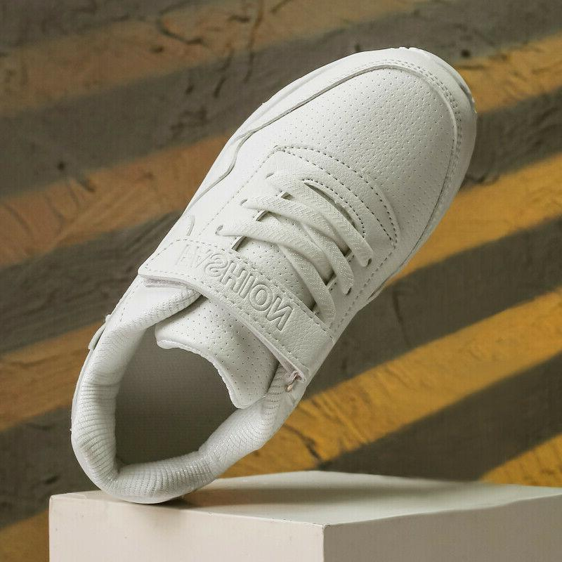 Hot Girls Sports Shoes Anti Slip Fashion Casual Running White