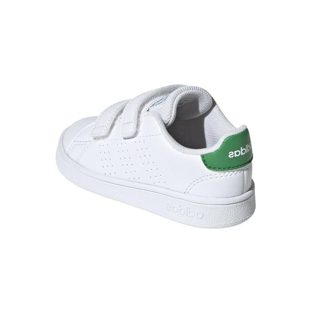 adidas Kids Casual Sneakers Infant/Toddler Shoes White Green